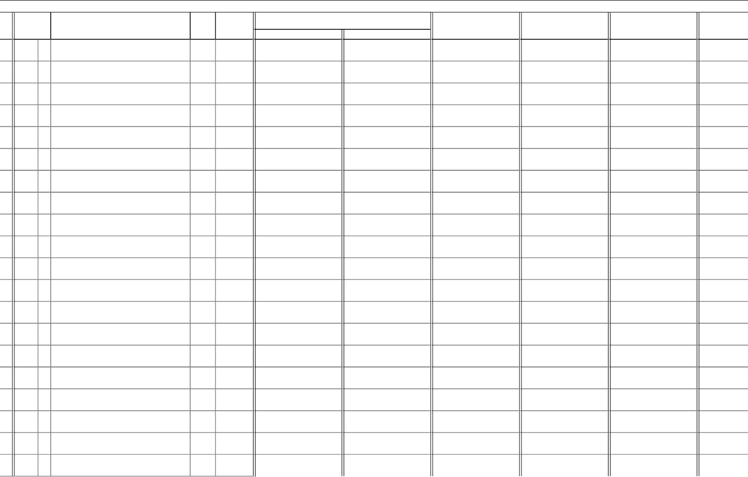 cash receipts journal template