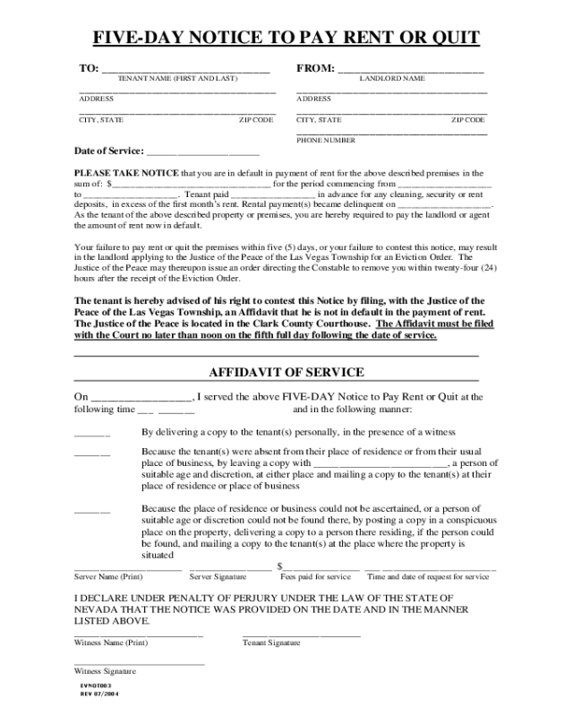 notice to pay rent or quit template - notice to pay or quit sample form edit fill sign