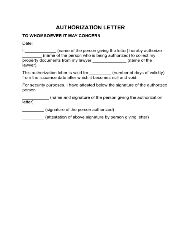 authorization letters templates Oylekalakaarico