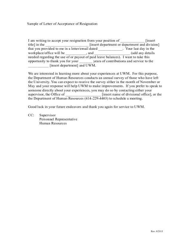 2019 Resignation Letter Samples - Fillable, Printable PDF