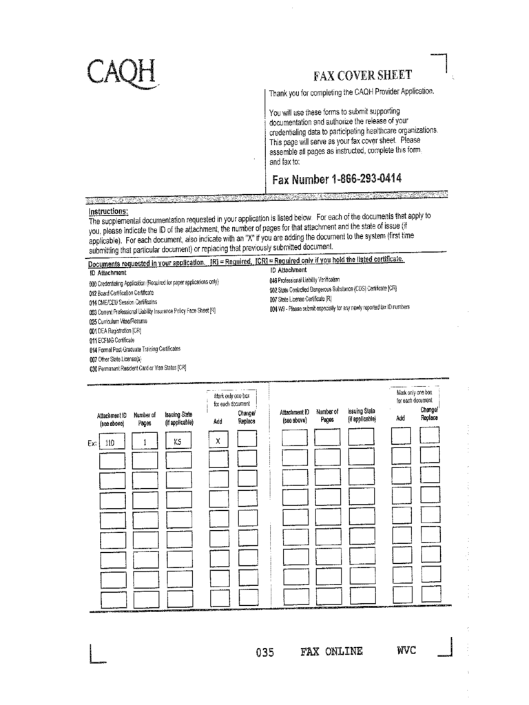 2019 fax cover sheet for cv