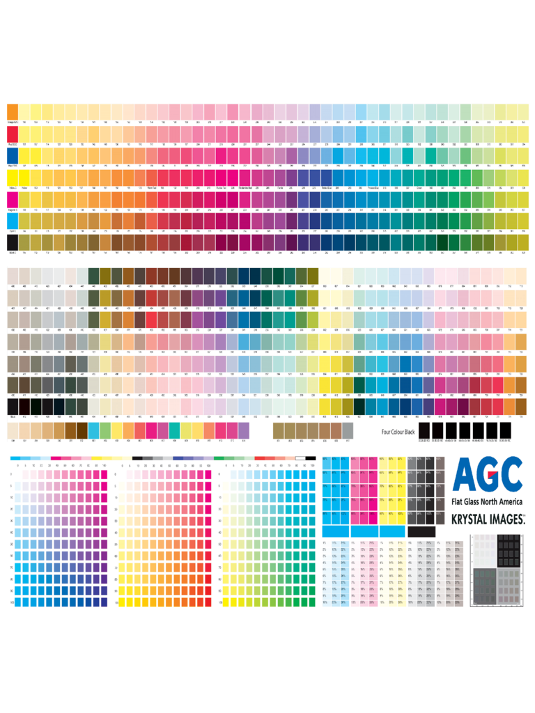 2018 Cmyk Color Chart Template - Fillable, Printable PDF ...