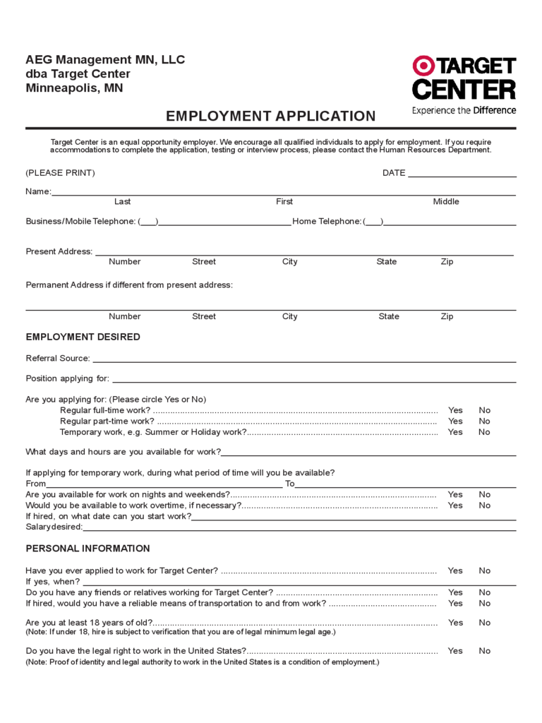 target-center-employment-application-form-d1 Target Online Job Application Form on apply target, taco bell, pizza hut, olive garden, print out,