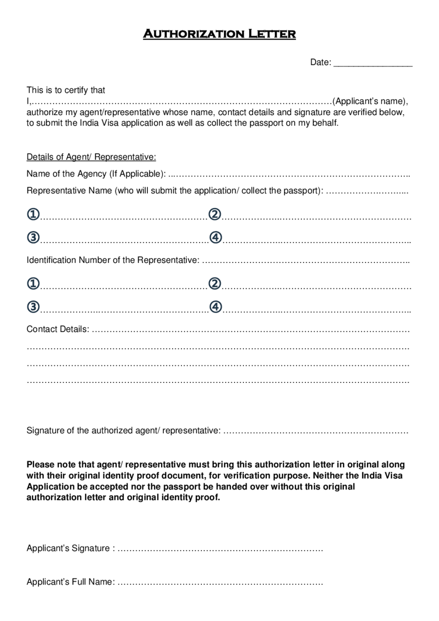 Authorization letter edit fill sign online handypdf for Templating agent