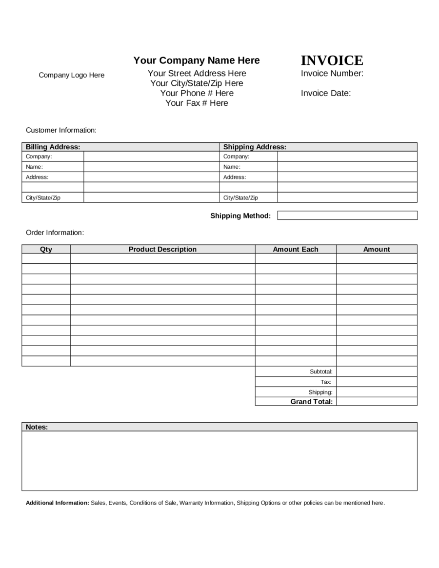 Simple Proforma Invoice Pasoevolistco - Simple proforma invoice template for service business