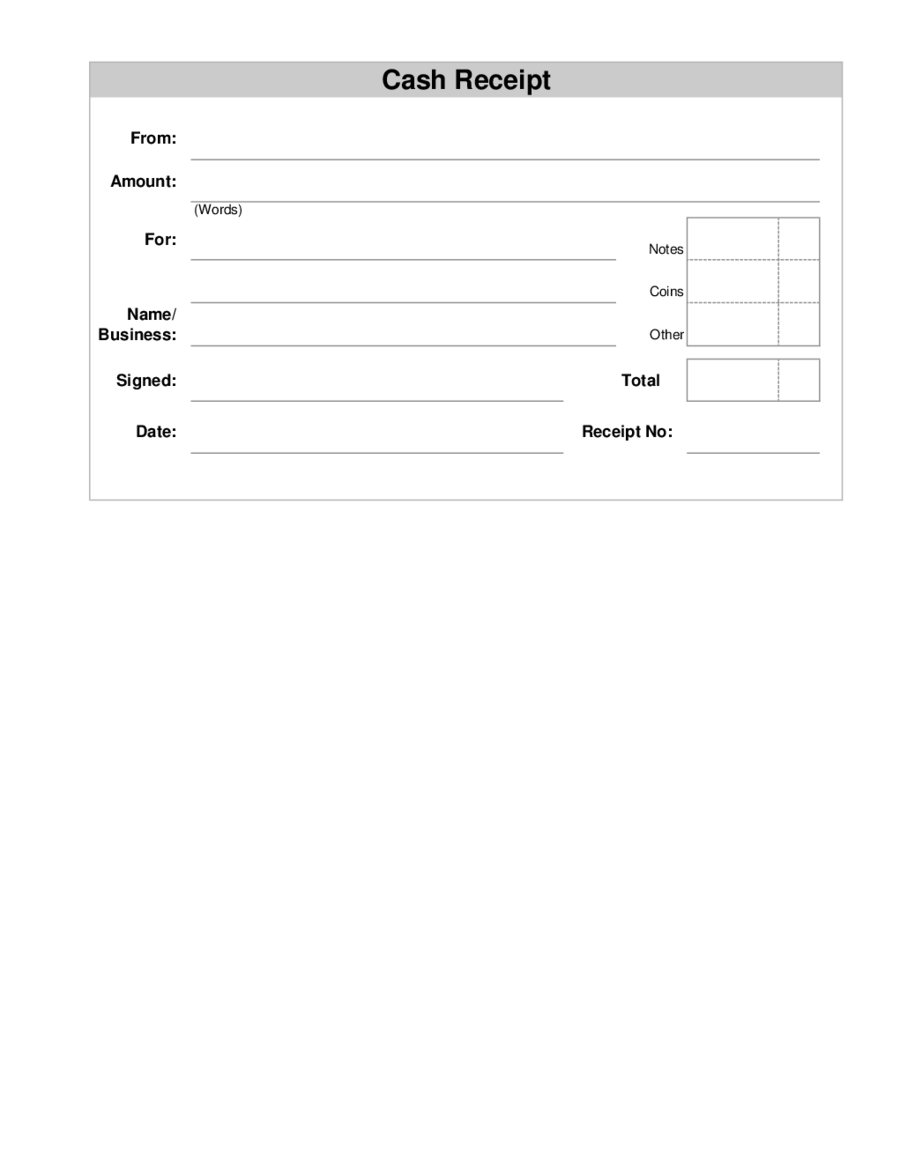 2018 receipt template fillable printable pdf forms handypdf