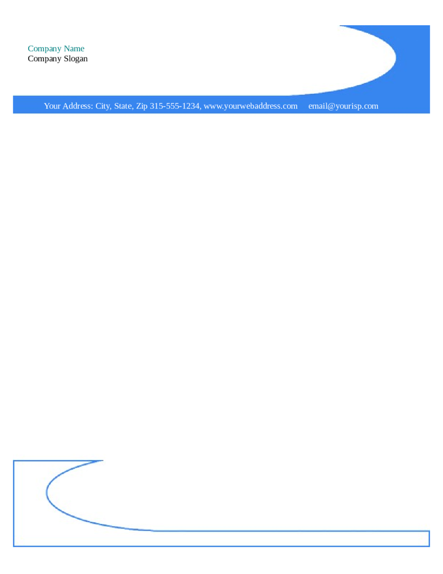 Microsoft Word Letterhead Templates Free  Free Business Stationery Templates For Word