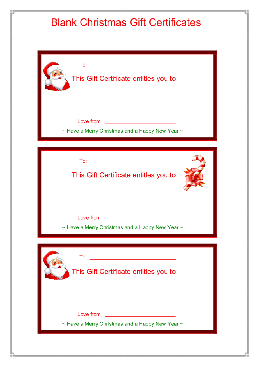 2019 Gift Certificate Form Fillable Printable Pdf Forms Handypdf
