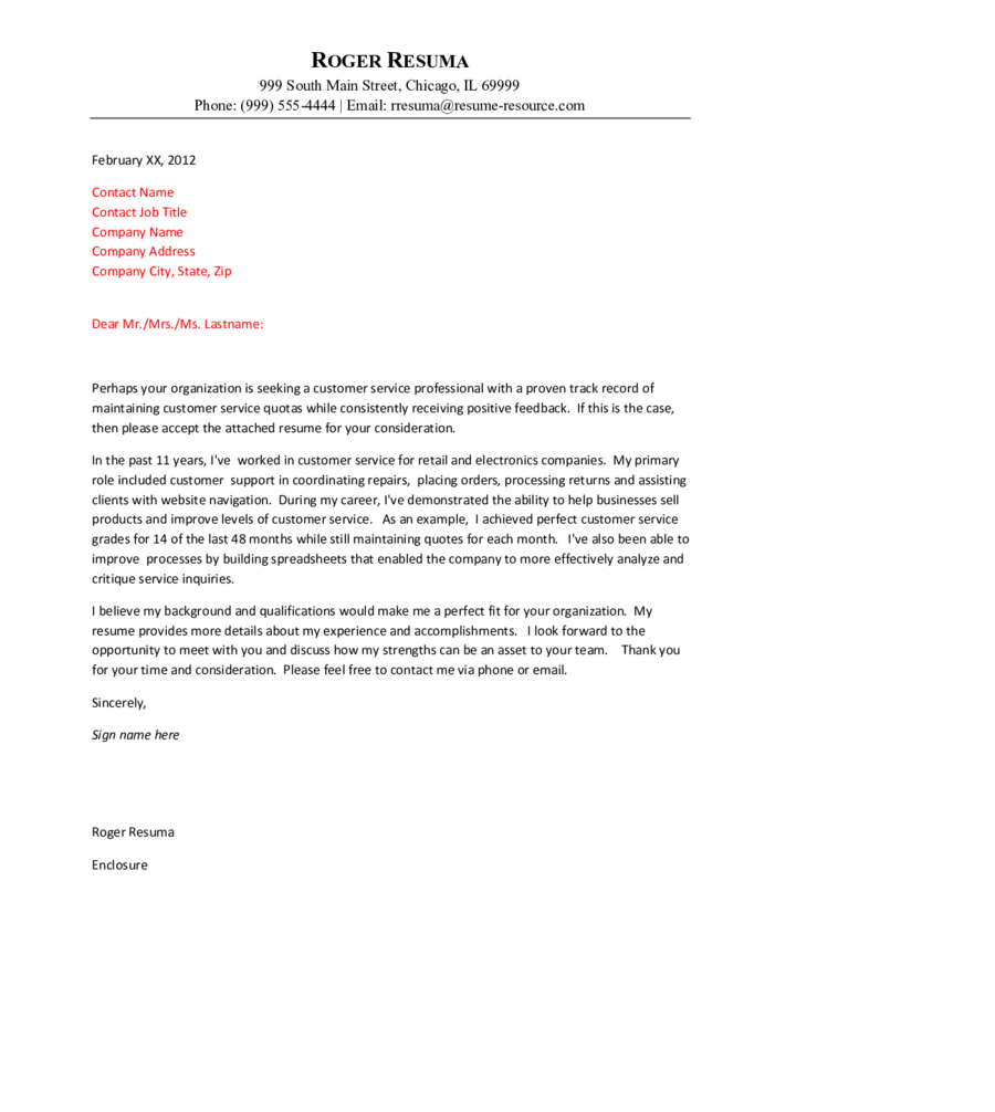 sample customer service cover letter edit fill sign
