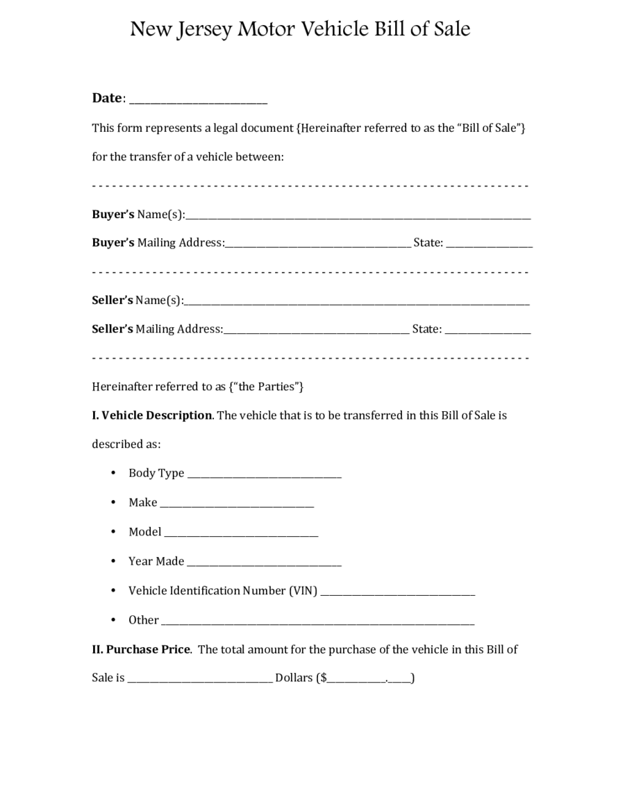 2018 dmv bill of sale form fillable printable pdf forms handypdf