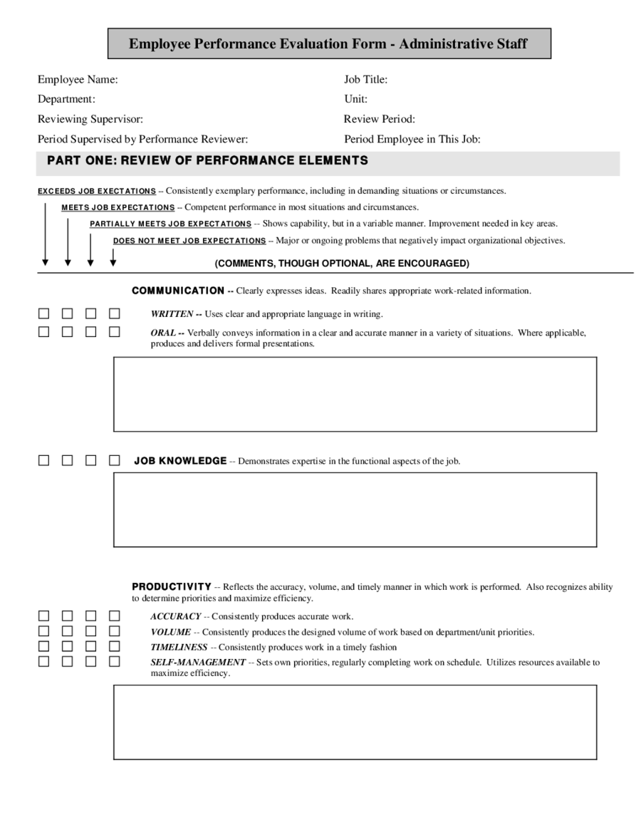 employee performance evaluation form - novasatfm.tk