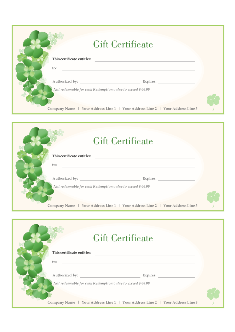 Make gift certificates exolabogados make gift certificates xflitez Images
