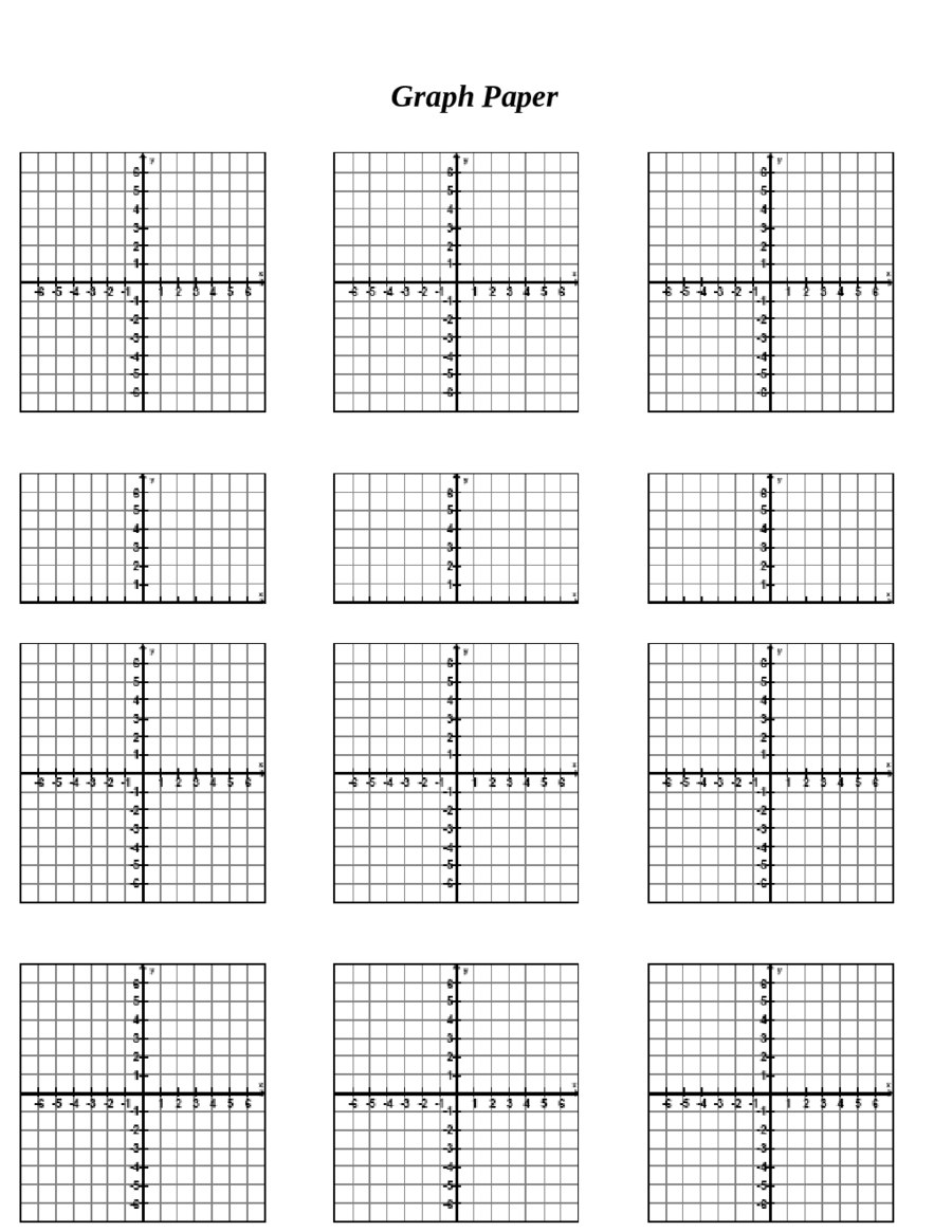 worksheet Cartesian Graph Paper With Numbers 2017 printable graph paper fillable pdf forms 01