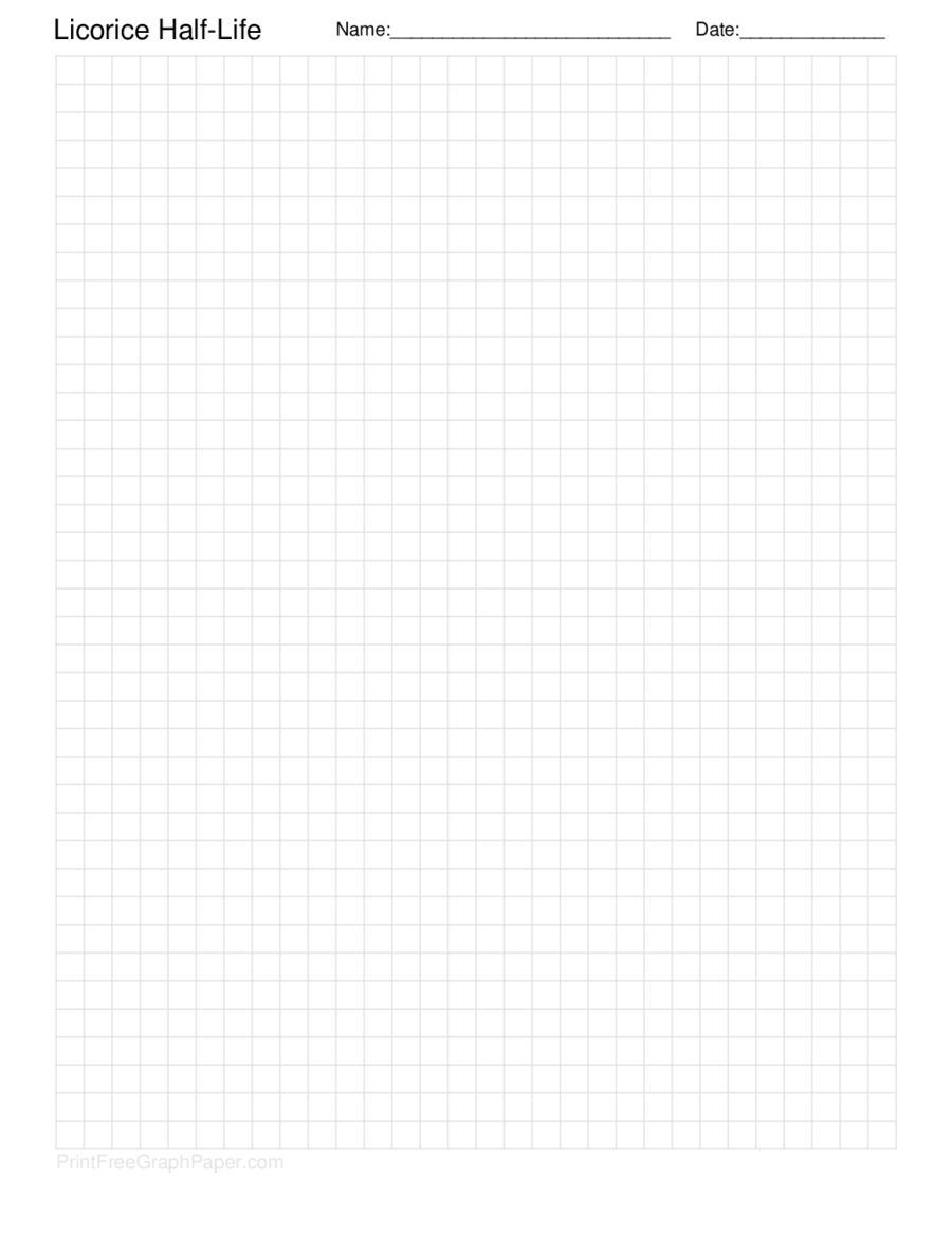 Graph Paper Printable  Graph Sheet Download