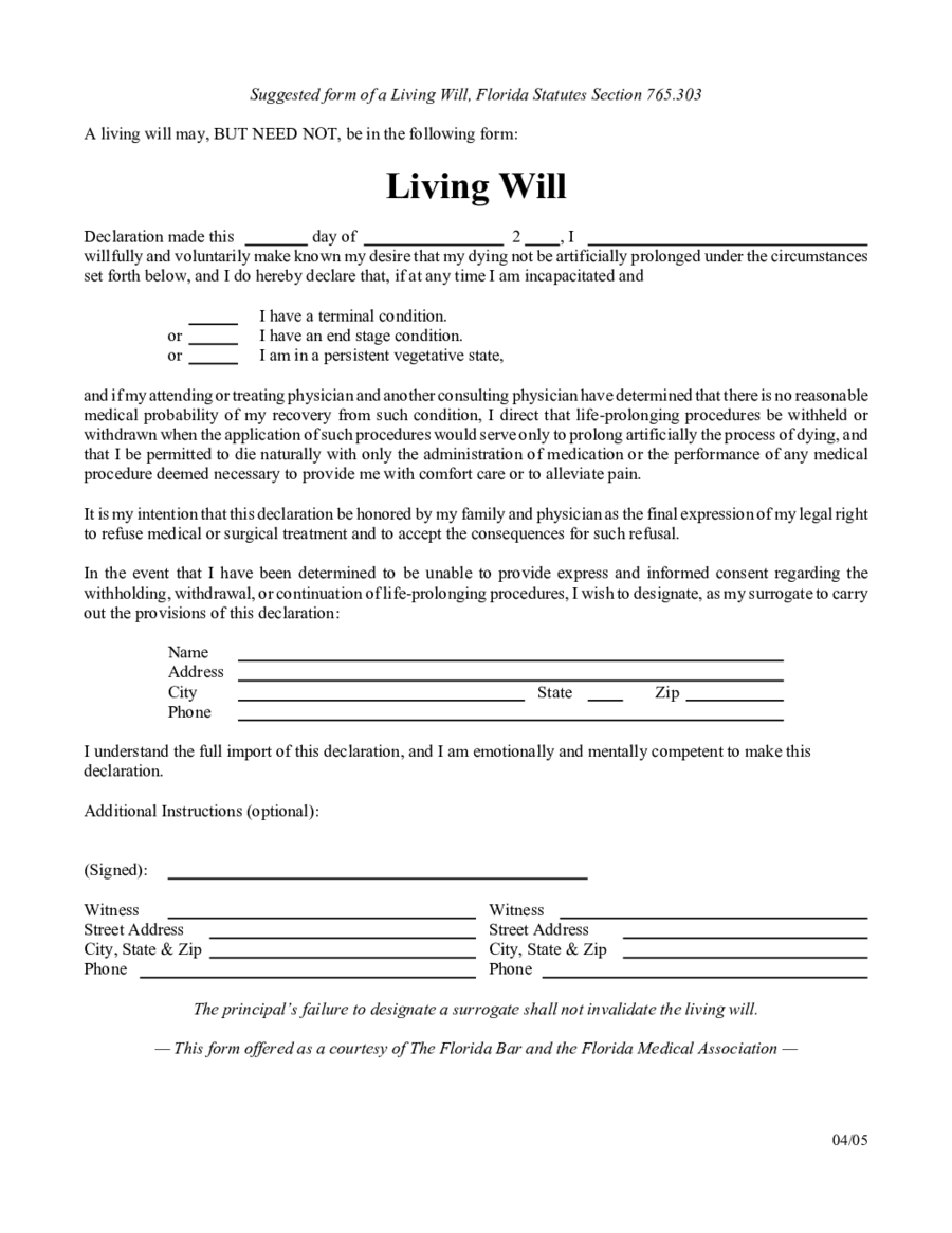 Living will forms edit fill sign online handypdf for Ohio living will template