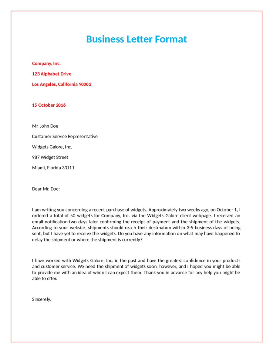 2018 official letter format fillable printable pdf for How to structure a covering letter