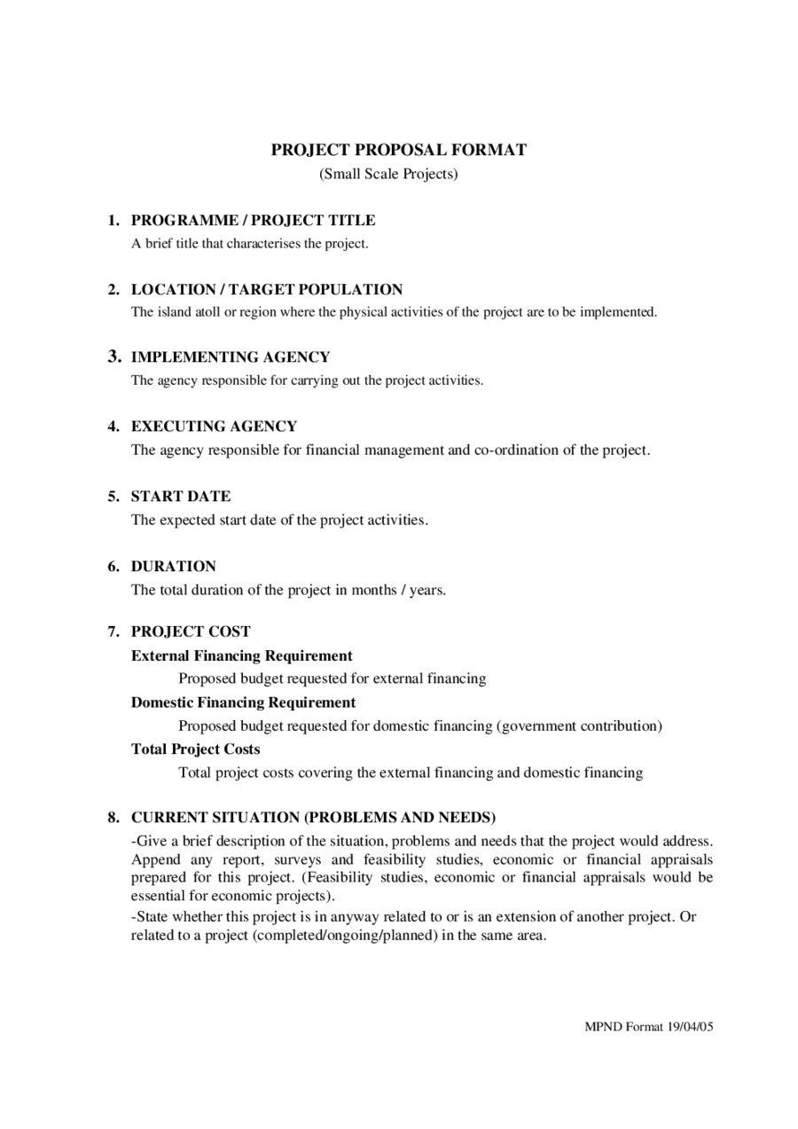 Research Project Proposal Template - Edit, Fill, Sign Online | Handypdf
