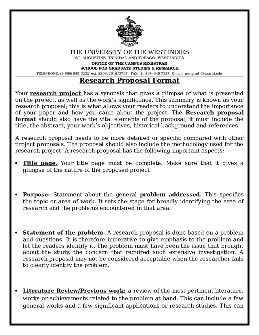 research project proposal example To write an academic research proposal is most likened to writing a proposal that addresses a project the main difference is that the research proposal is a plan to.