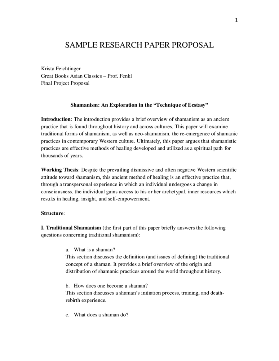research proposal template  fillable printable pdf  forms  research proposal sample